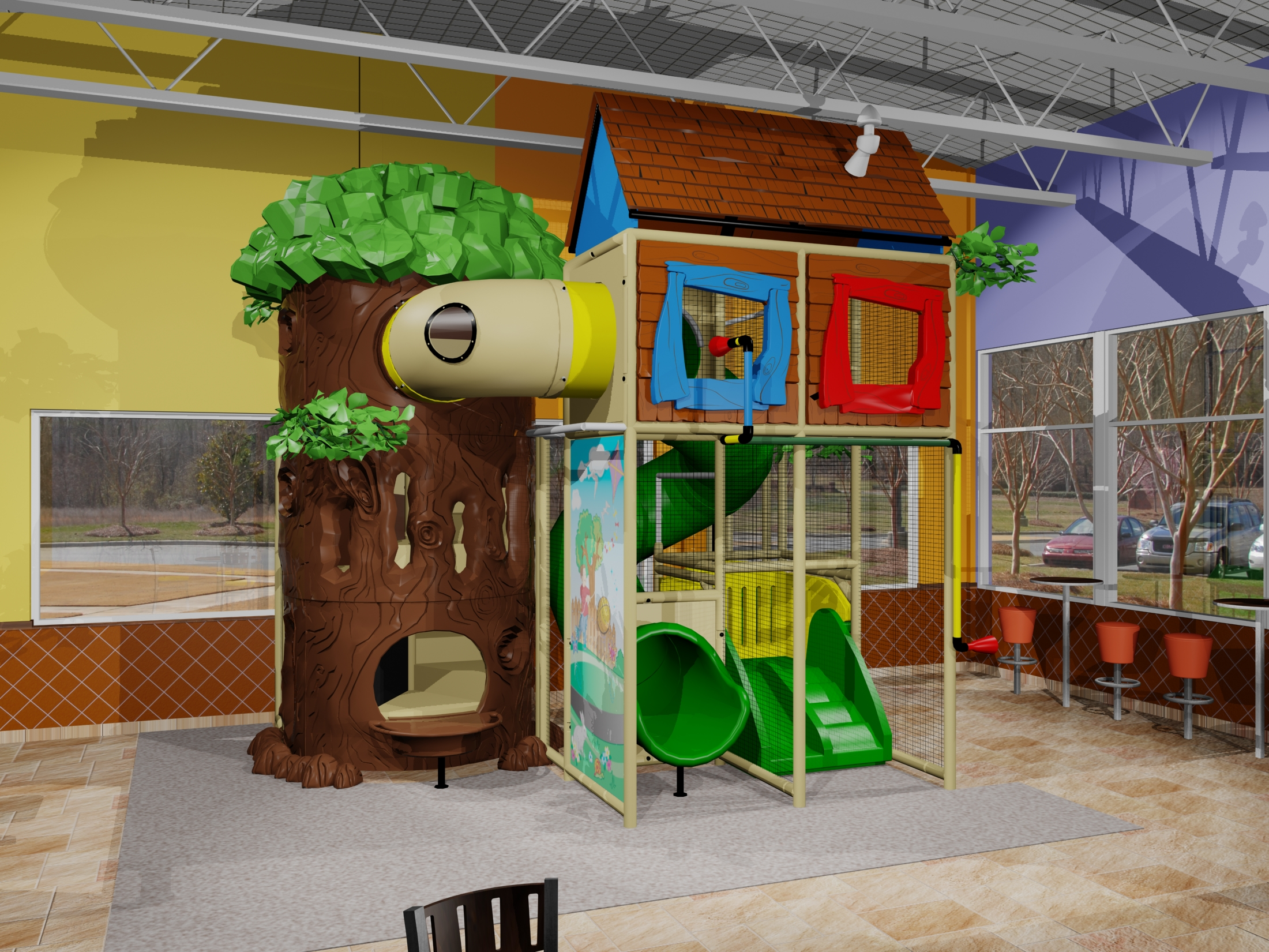 Comprar brinquedos para buffet infantil Playgrounds e brinquedos  #2C7B1C 2200x1650