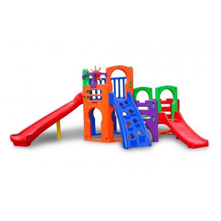 Playgrounds de plastico certificados